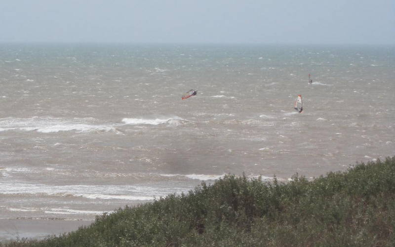 Moulay Windsurf Boujmaa Guilloul triple loop